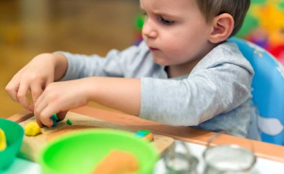Sensory play for childhood development and learning